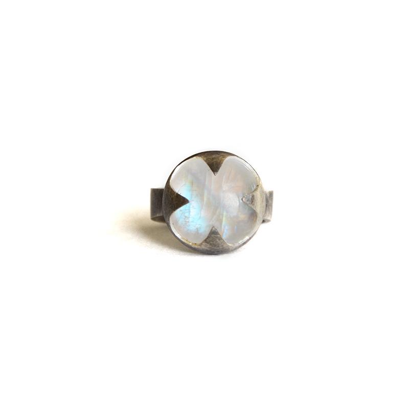 Prophet Ring, moonstone, sterling silver 2014