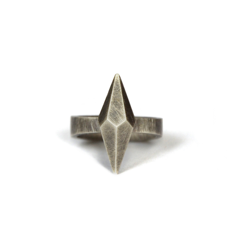 Building Blocks Ring, sterling silver, 2015