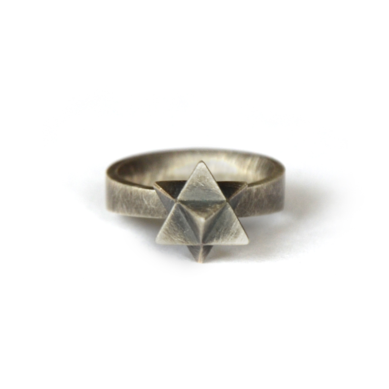 Portal Ring, sterling silver, 2015