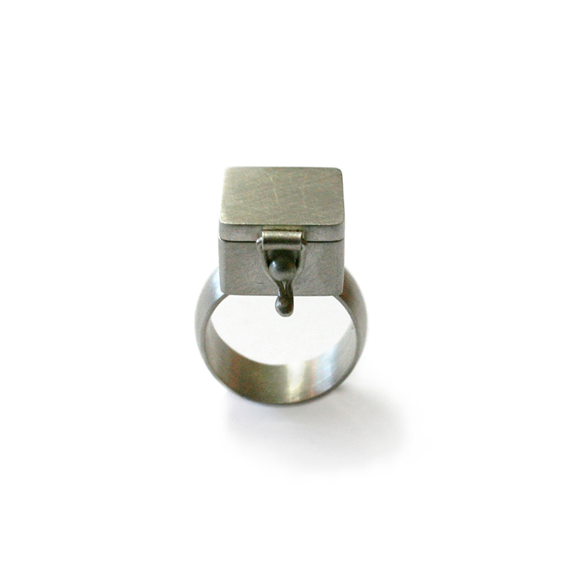 What's on the Inside, Ring, sterling silver, 2006