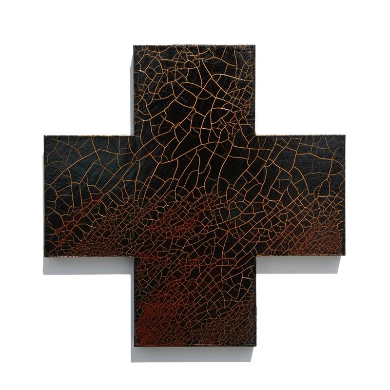 Rapture, MDF, bitumen, acrylic, 2013