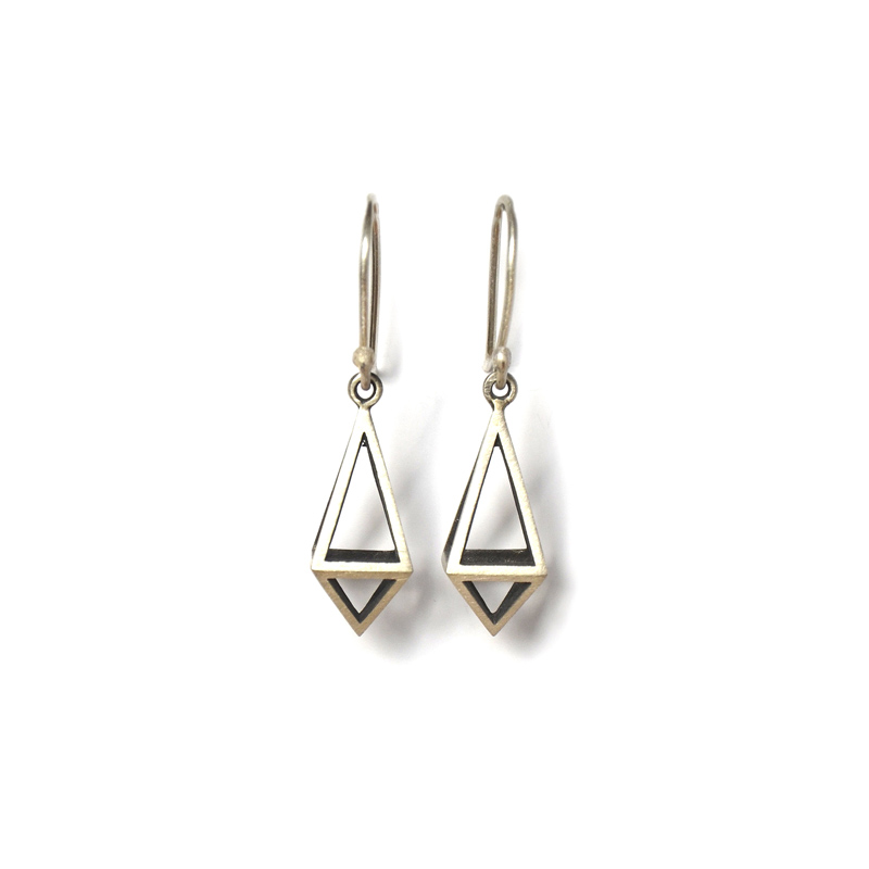 Pendulum Earrings, Sterling silver , 2017